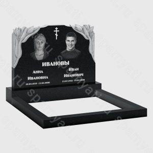 двойные памятники на могилу цена в Москве