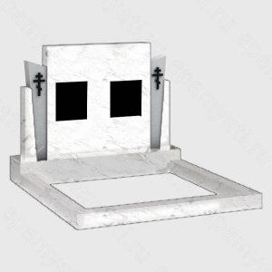 купить двойной мраморный памятник с доставкой